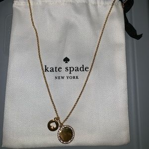 "KATE SPADE Necklace ""Spot the Spade"" NWT"